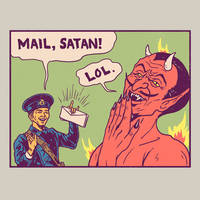 Mail, Satan! by HillaryWhiteRabbit