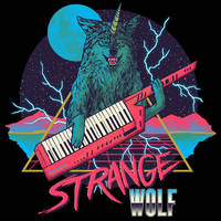 Strange Wolf by HillaryWhiteRabbit