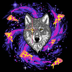 Galactic Pizza Wolf