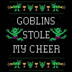 Goblins Stole My Cheer by HillaryWhiteRabbit