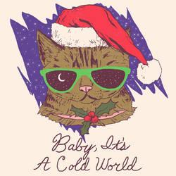Winter Kitten by HillaryWhiteRabbit