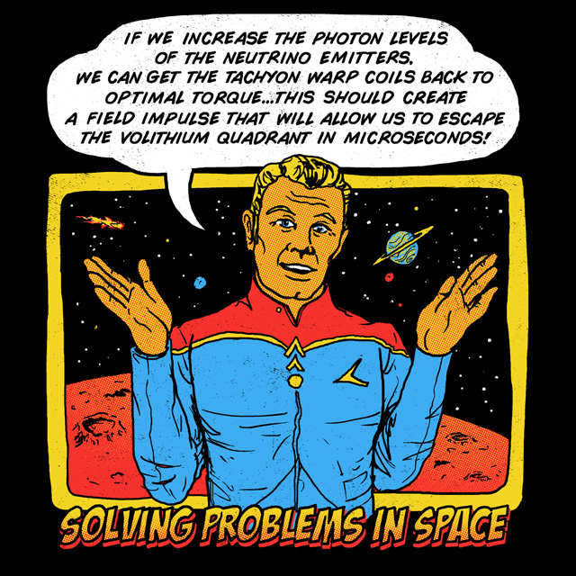 Solving Problems In Space by HillaryWhiteRabbit