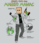 Create-Your-Own Masked Maniac