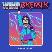 Windbreaker by HillaryWhiteRabbit