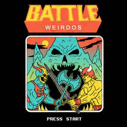 Battle Weirdos by HillaryWhiteRabbit