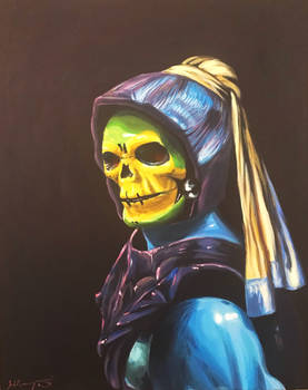 Sorcerer With A Pearl Earring