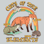 Cats of The Elements by HillaryWhiteRabbit