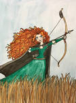 WC Princess Series: Merida by EmilyDfan