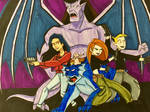 Gargoyles meets Kim Possible by EmilyDfan