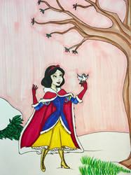 Snow White Winter Warrior Request by EmilyDfan