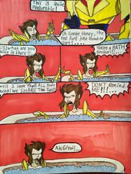 Hyenas Bath Time Fantasy by EmilyDfan