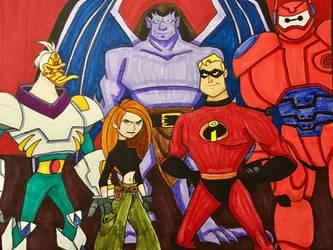 Heroic Alliance by EmilyDfan