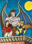 My Gargoyles Series 1: Goliath And Elisa