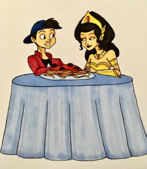 Alonsos Dinner Date