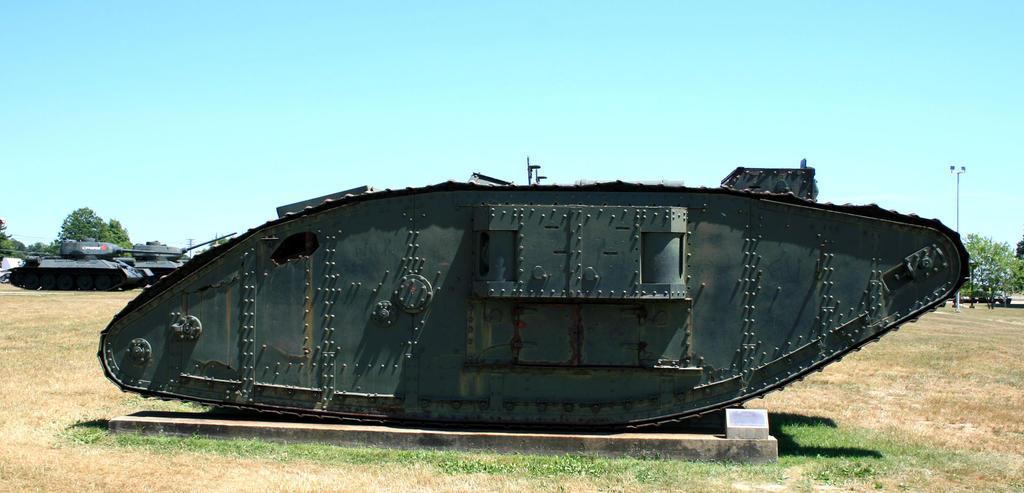 WWI Mark IV Tank 2 by Alfonzz
