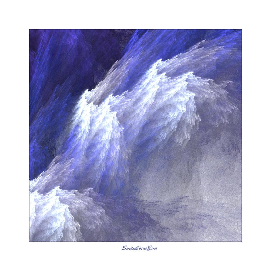 stormy ocean by SvitakovaEva