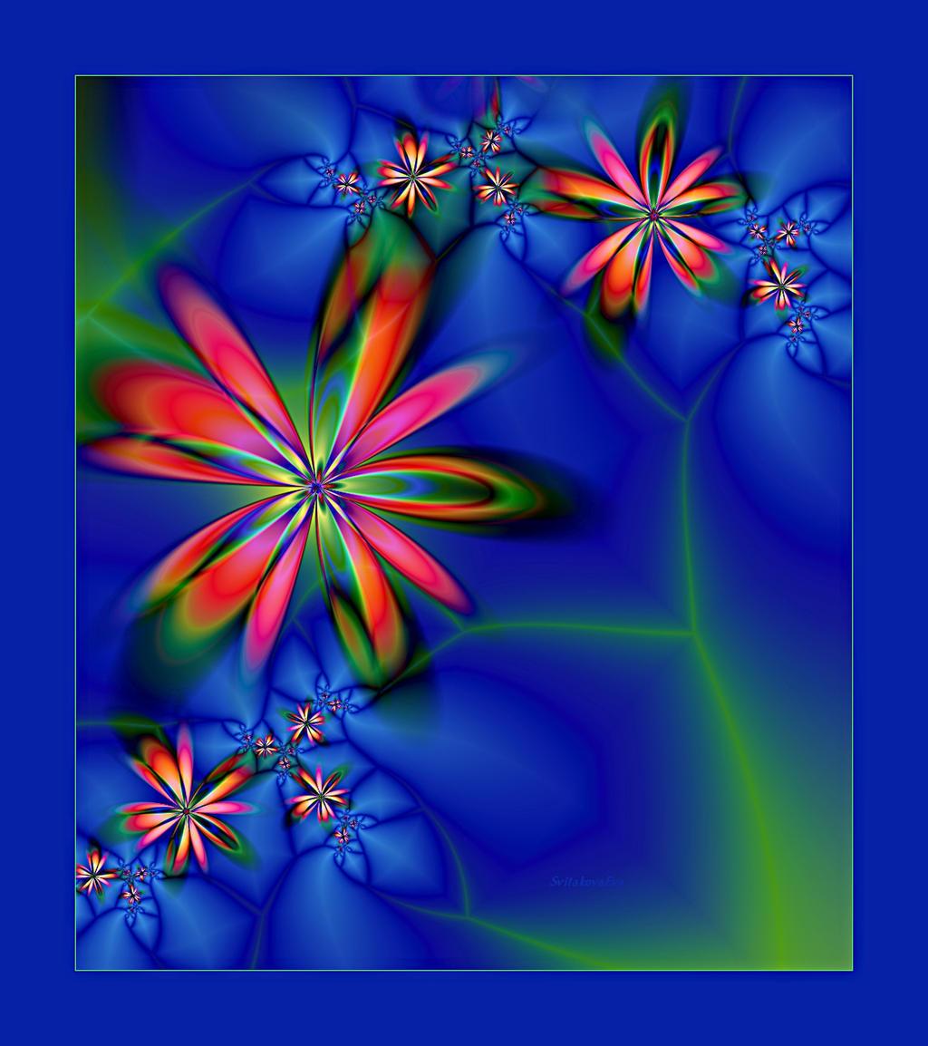 Blue Abstract II By SvitakovaEva On DeviantArt
