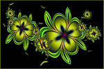 abstract flowers - ultra fractal