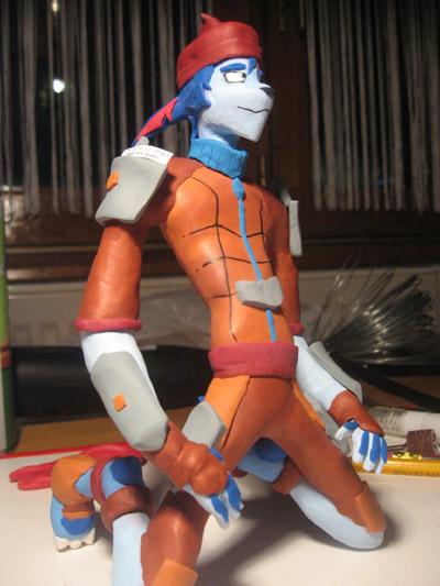 Billy Rex Figurine by furrtek