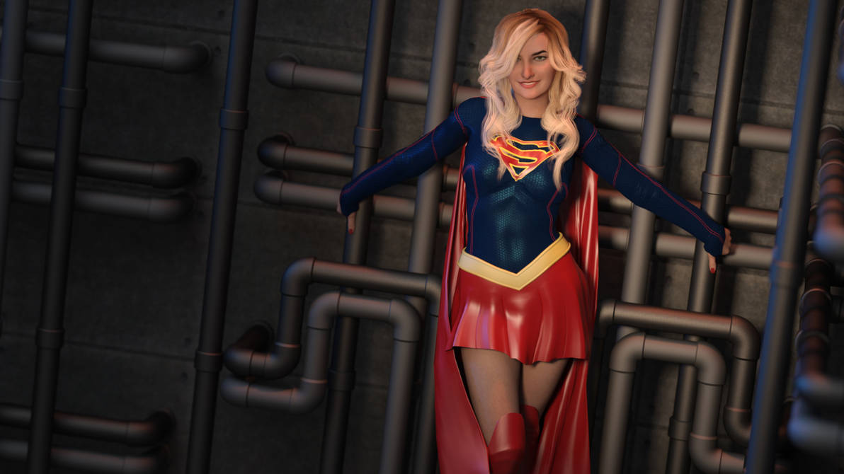 Supergirl #2: Man of Steel version by ~SilentArmageddon on
