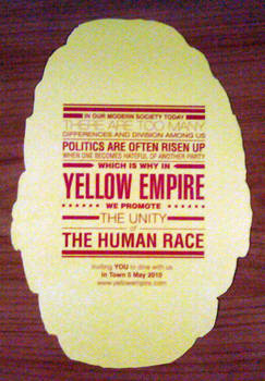 Yellow Empire Post Card