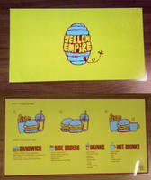Yellow Empire Fast Food Menu