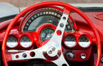 Red Corvette - Dashboard