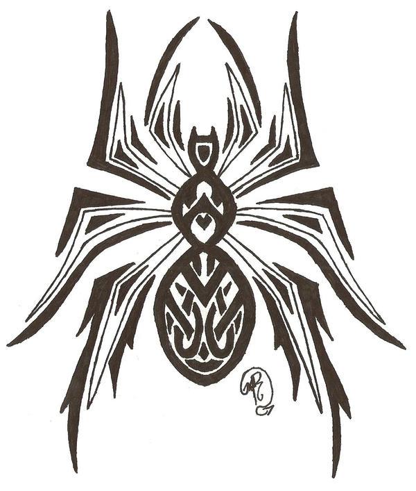 Creepy Crawly - Tribal Spider by DarkDragonRising on ...