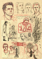SPN sketchdump by TashinaKalmbach