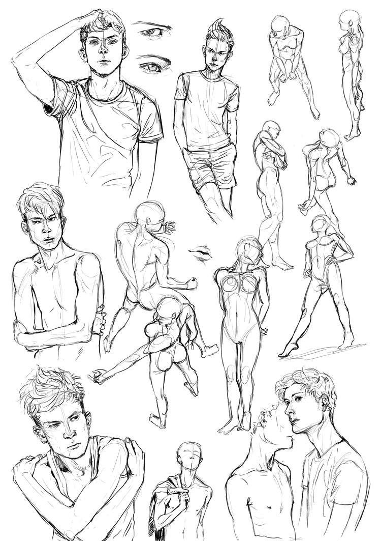 Anatomy-studies by TashinaJacob