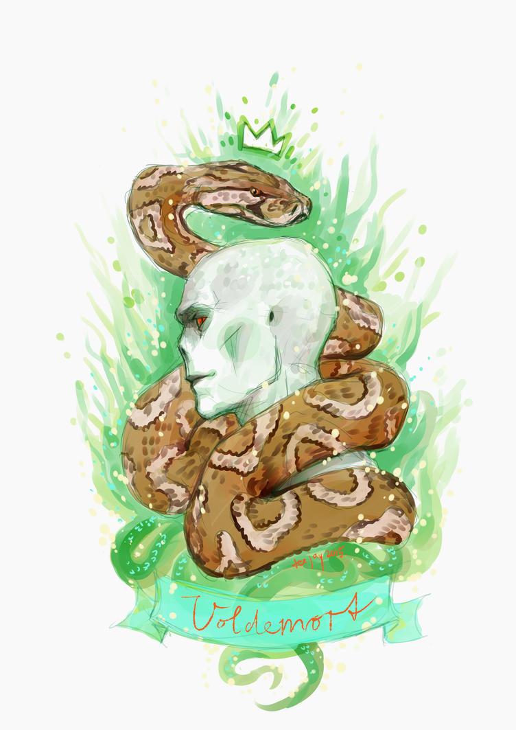 Voldemort - Sketchswap March 2015 by TashinaJacob