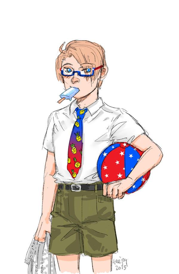 Sketchswap June 2015 - America by TashinaJacob