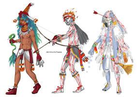 Quetzalcoatl and... by TashinaKalmbach
