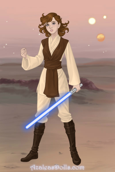 Me as a Jedi by TheFoxyEccentric274