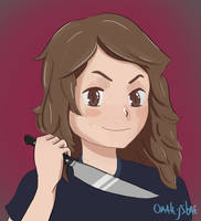 hazel-chan! by omalesybae