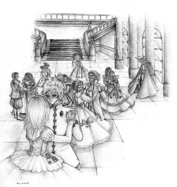 Masquerade ball by tinuleaf