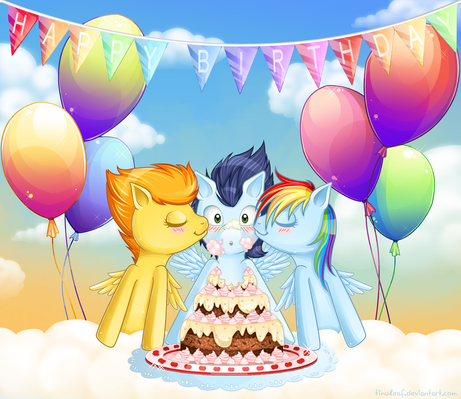 Soarin Birthday By Tinuleaf On DeviantArt