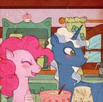 Pinkie Pie and Pokey Pierce