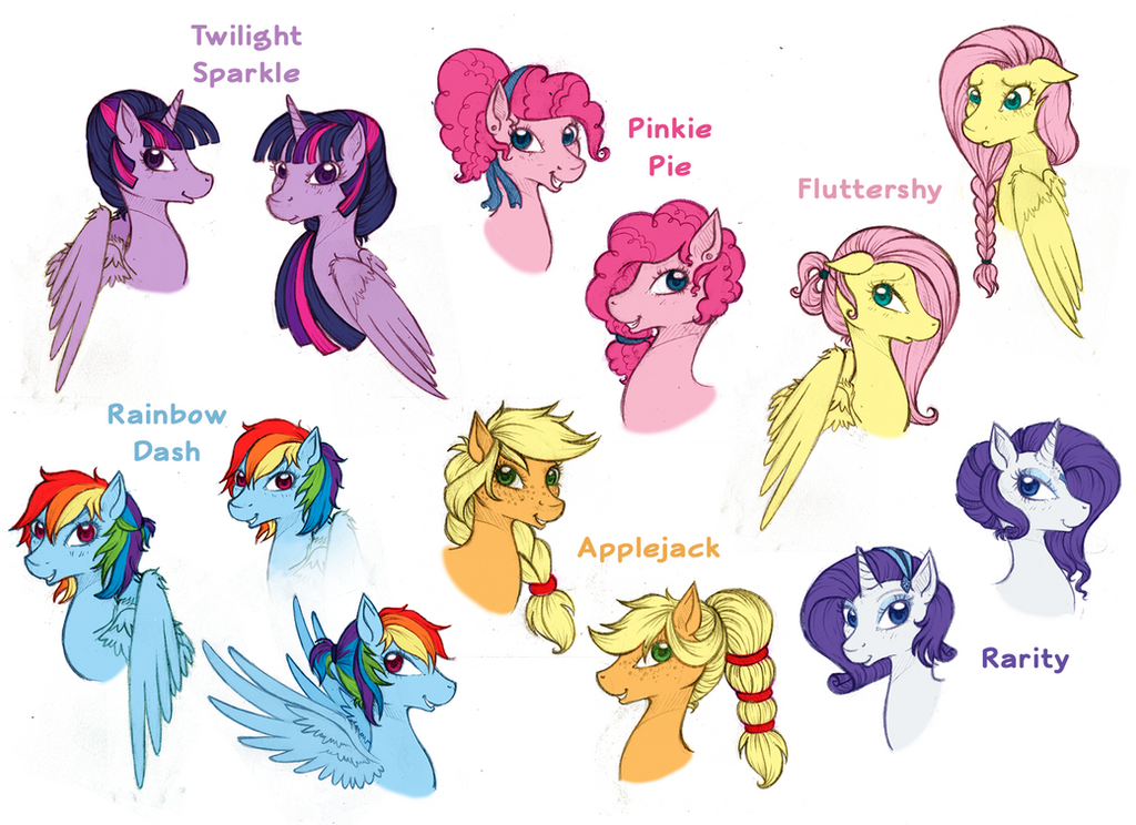 Mlp Mane Styles Alternative Pictures To Pin On Pinterest