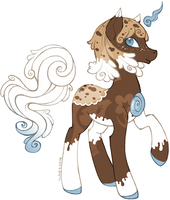 [Solutai Pony Advent] Day 13 - Milk And Cookies by tinuleaf