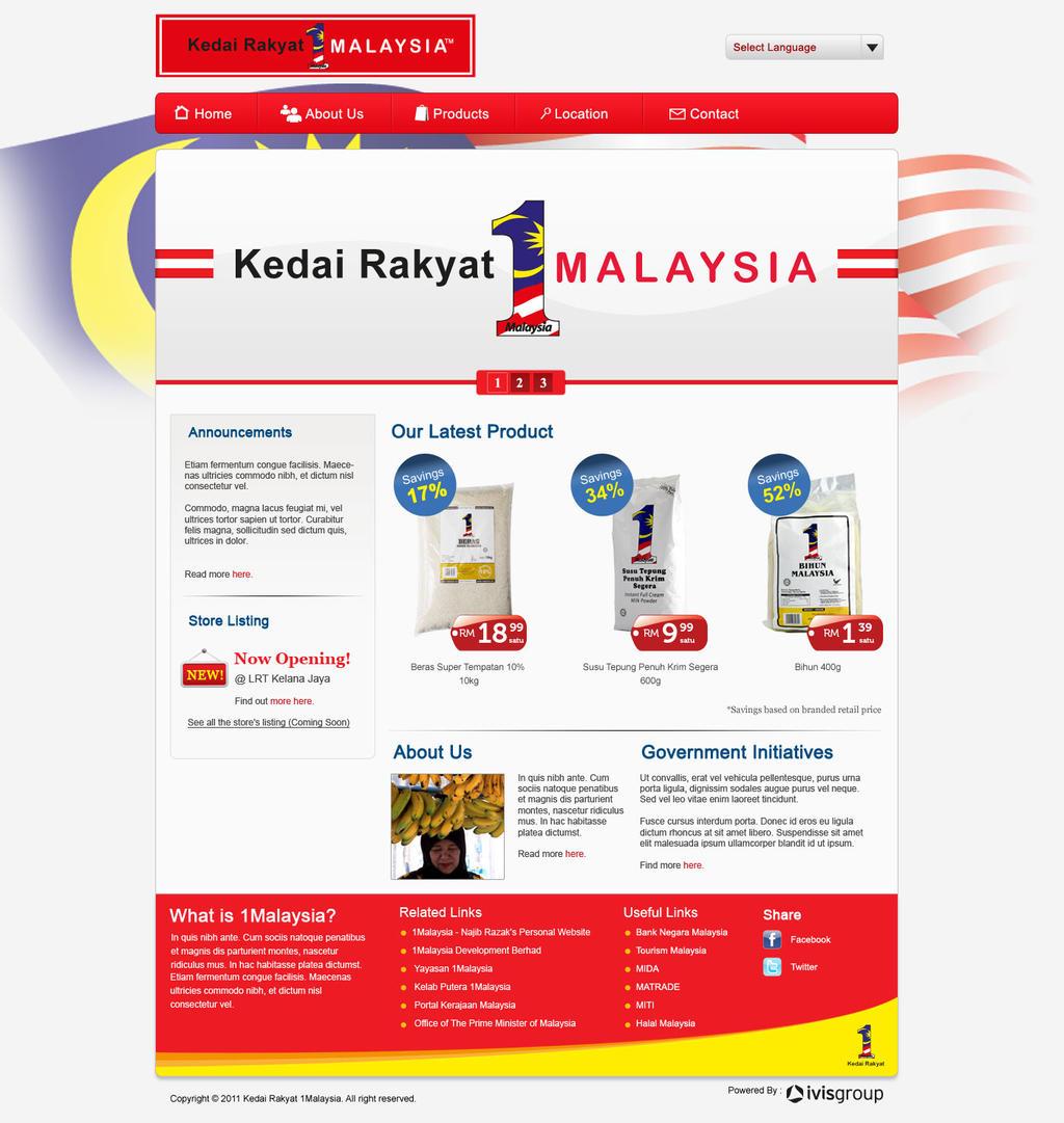 Kedai 1Malaysia