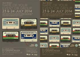 Audio-Tape Nostalgia by oblik50