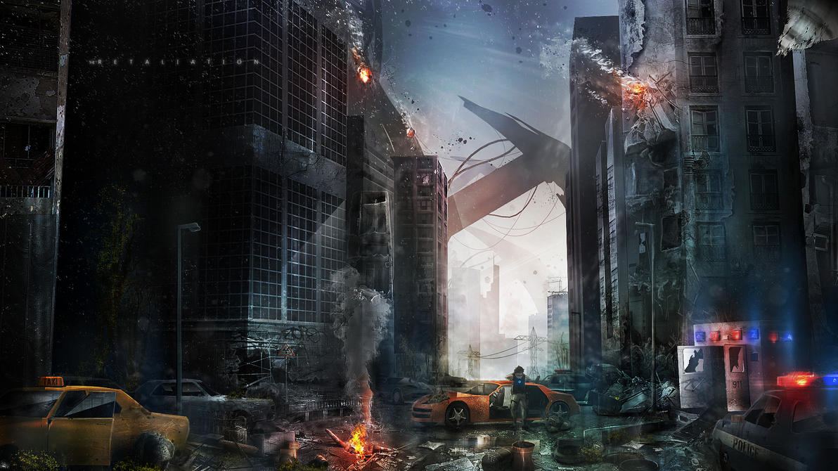 Concept City Down by Jedi88
