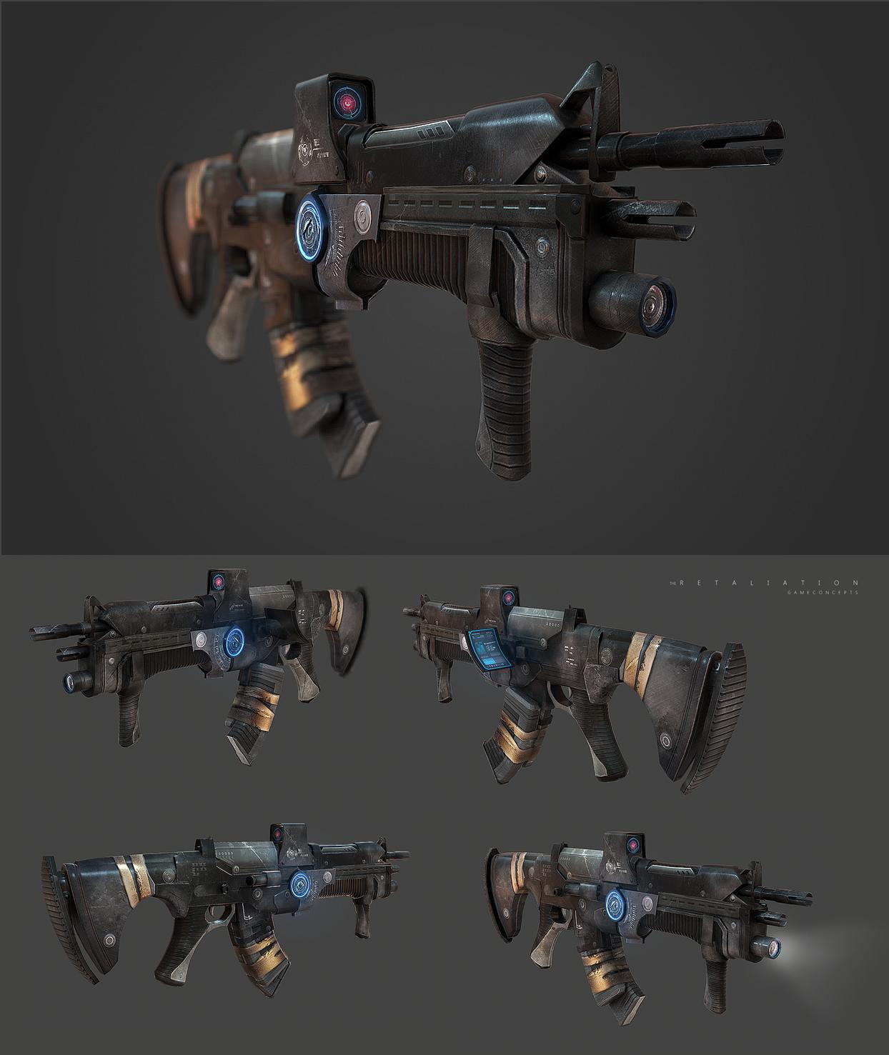 Gun TR by Jedi88
