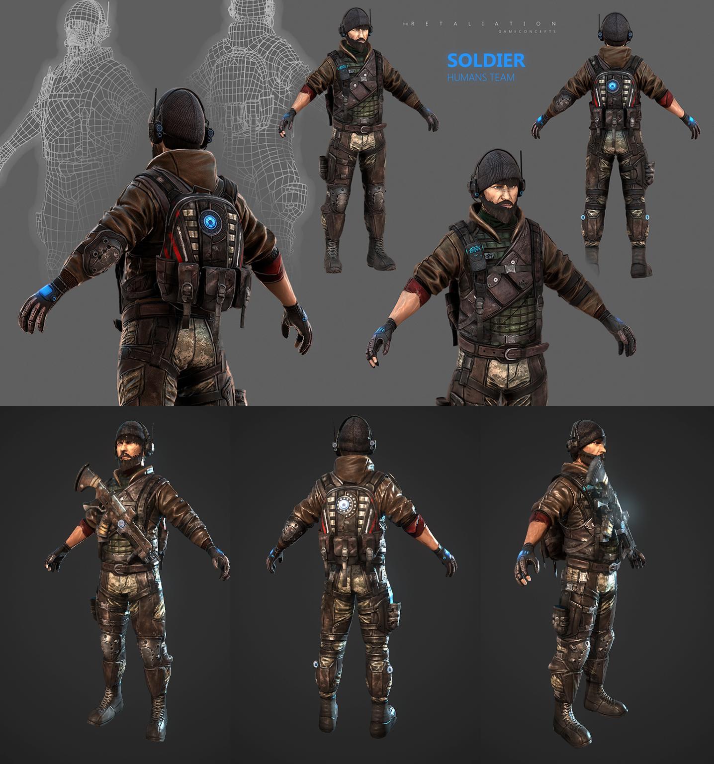 Soldier 3D by Jedi88