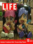 Puffy AmiYumi Toys on Life Magazine. by researcher42