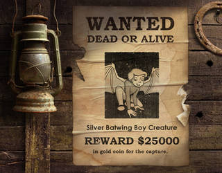 Wanted Poster - Batwing Boy by researcher42