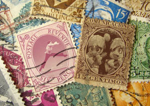 Fantasy Postage Stamps Experiment.