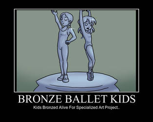 Bronze Kids Poster by researcher42