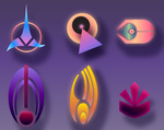 Star Trek Icon style sampler #1